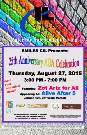 Zot Artz at Alive After 5 August 27, 2015